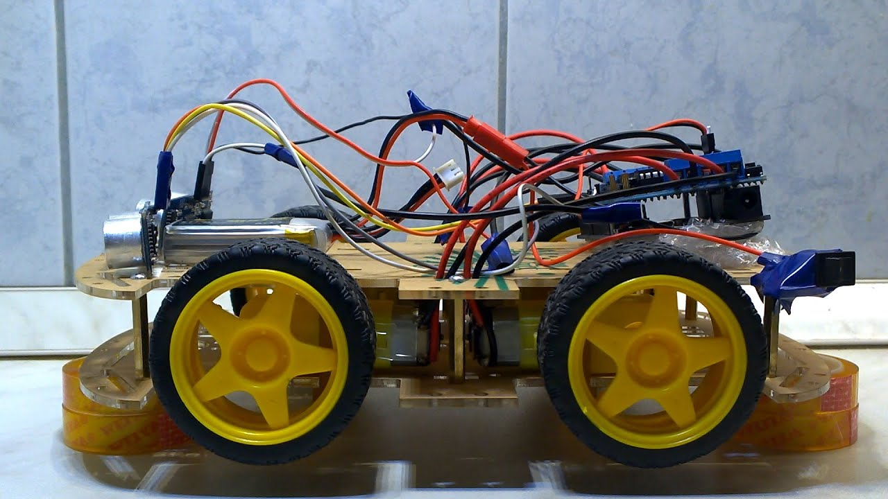 Android controlled car funny video arduino leonardo