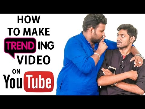 MAKKALE! How to Make Trending Video on YouTube? | Enna Ma Ippadi Panreengale Ma | TK 60