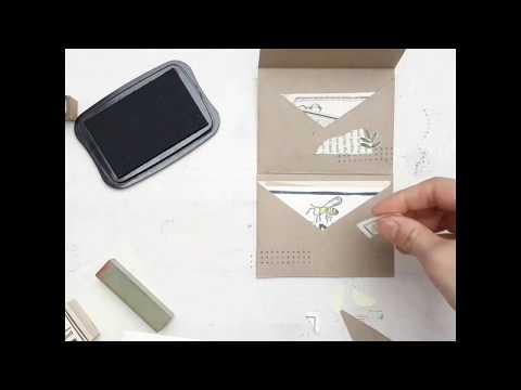 PAPER FOLDER DIY (2 pockets)