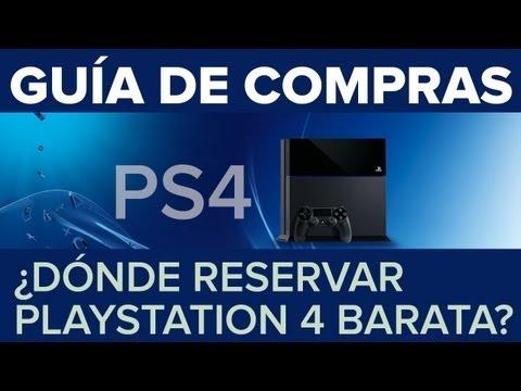 Guía de compras: Dónde reservar PS4 al mejor precio [en España]