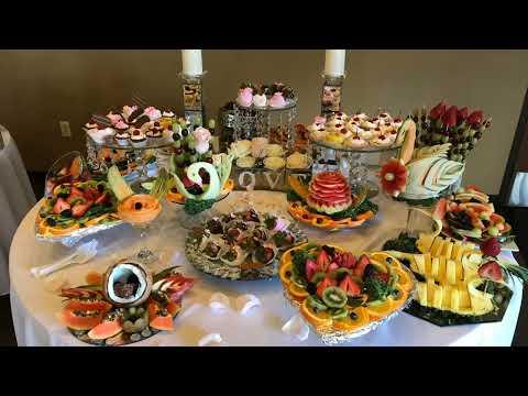 Как красиво украсить стол на свадьбу