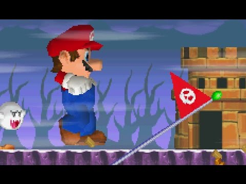 New Super Mario Bros. DS - All Ghost House Levels