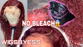HOW TO: RED/BURGUNDY HAIR  FROM 1B WITHOUT BLEACH!! | FT KENDRAS BOUTIQUE | FOREVER ESSYNCE