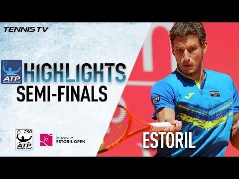 Highlights: Carreno Busta, Muller Soar Into Estoril 2017 Final