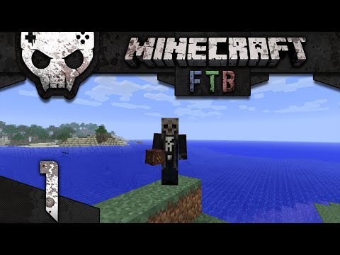 Minecraft Mindcrack Feed The Beast Ep 1: War starts with a bang