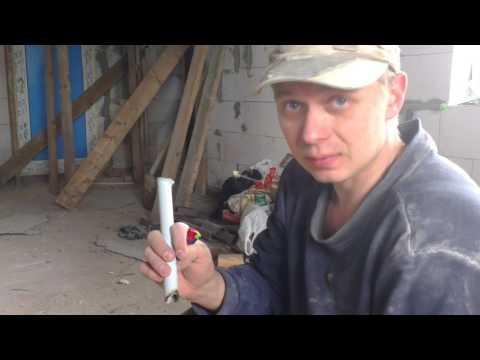 испытание пвх трубы для электропроводки по дереву