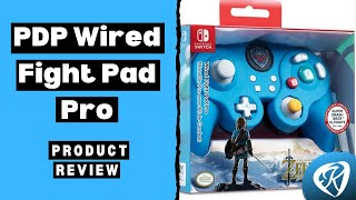 Nintendo Switch Wired Fight Pad Pro Controller Unboxing