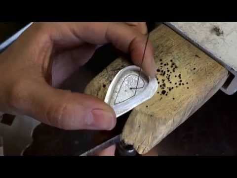 Making a Sterling Silver and Labradorite Ring