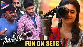 Nenu Local Movie FUN ON SETS | Nenu Local Making | Nani | Keerthy Suresh | Telugu Filmnagar