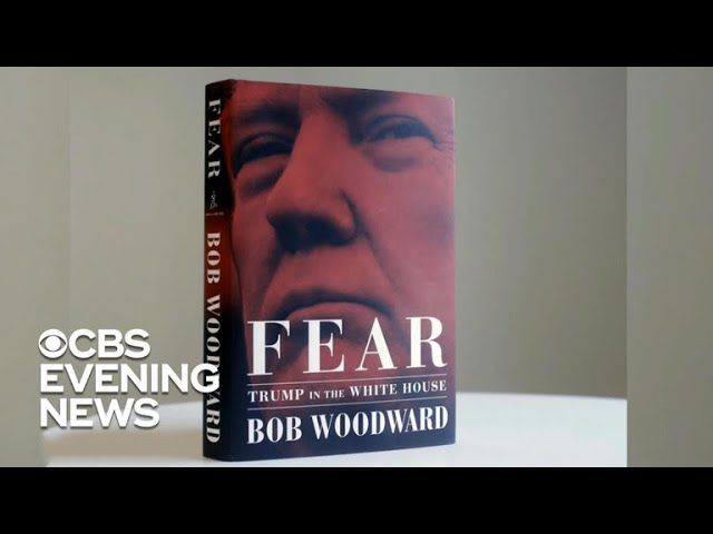 Bob Woodward's explosive book set to rock Washington