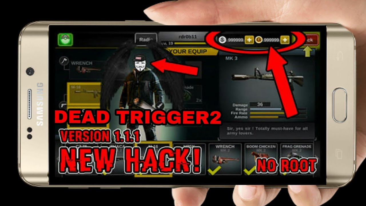 How to hack Dead trigger 2 | mod apk | unlimited ammo | no heat gun | unlimited money/coins | #1