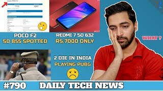 Poco F2 SD 855 WOW !,PUBG Death India Horrible,Redmi 7 Rs.7000,Iphone 11,FAKE Anti Virus Apps #790