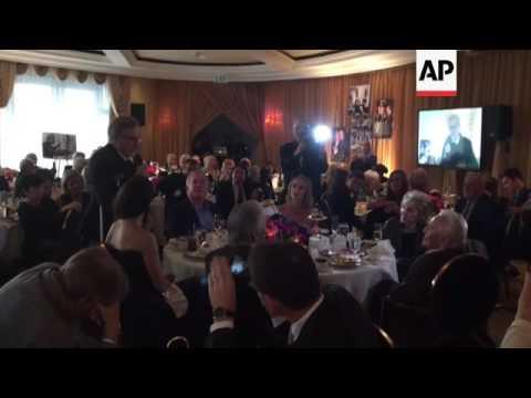 Inside Kirk Dougl Ate 100th Birthday Cele Tion