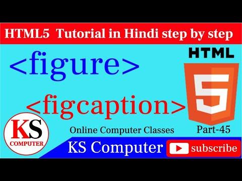 Figure & Figcaption Tag-HTML5