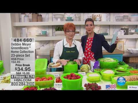 HSN   Kitchen Innovations featuring Debbie Meyer 05.29.2017 - 06 AM