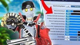 NICKMERCS UPDATED SEASON 8 CONTROLLER SETTINGS! (Fortnite Battle Royale)