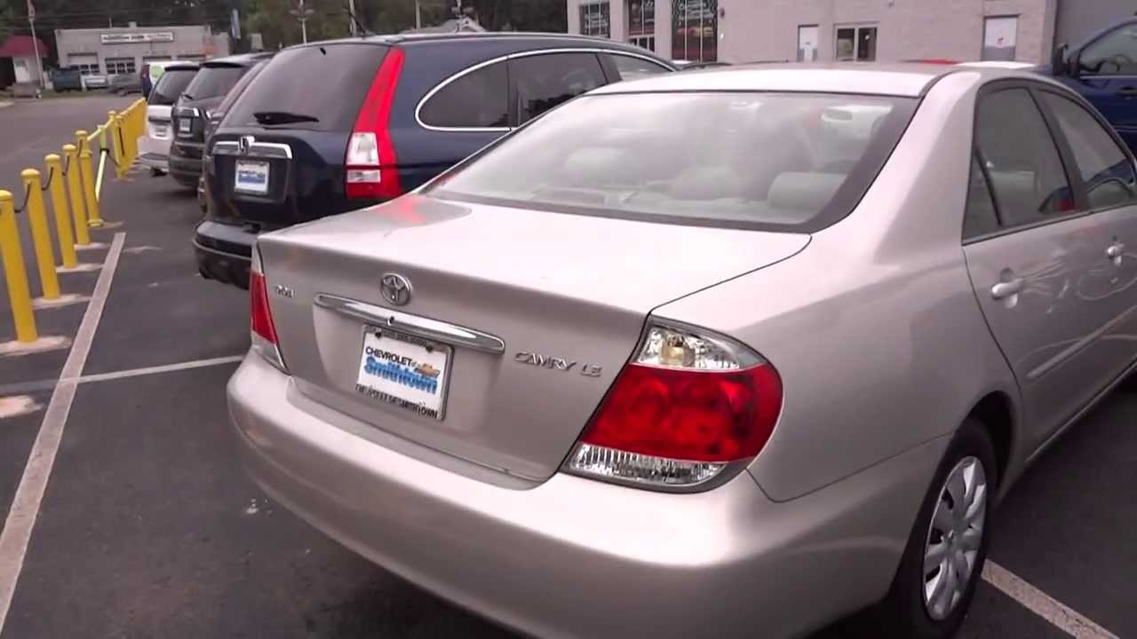 2005 toyota camry le 4 cyl walkaround overview