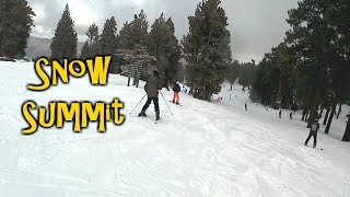 Snowflakes at Snow Summit Ep. 2 - Big Bear Trip 2019