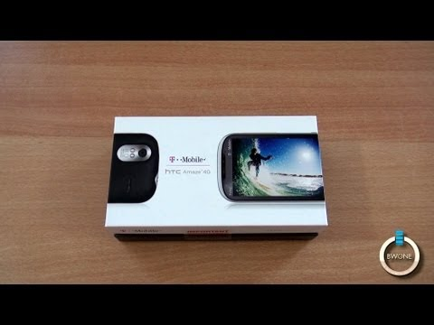 HTC Amaze 4G Unboxing, Hands-On & First Impressions - BWOne.com