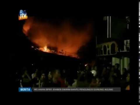 www.pojokpitu.com : Pasar Kertosono Terbakar, Puluhan Kios Ludes