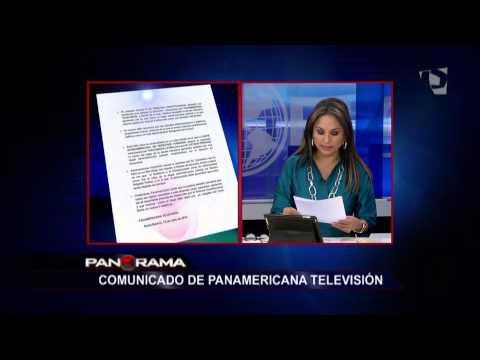 Comunicado: Tribunal consucional le da la razón a Panamericana Televisión