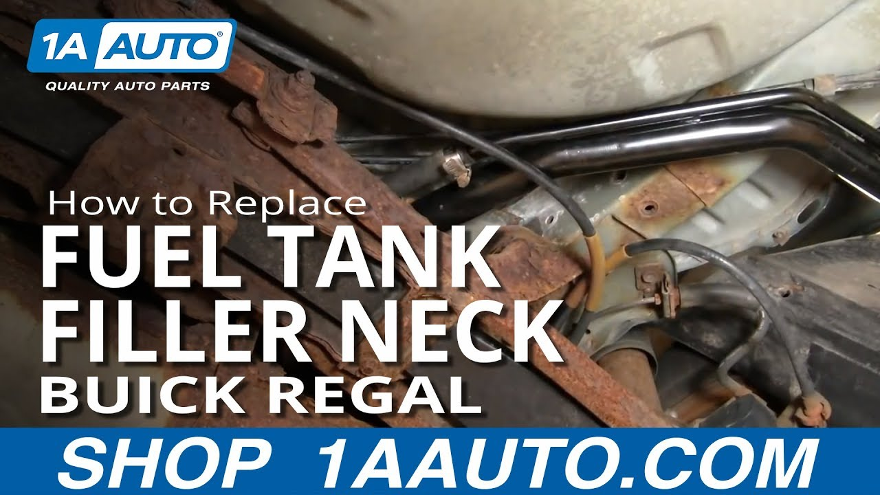 how to replace fuel tank filler neck 88 96 buick regal [ 1280 x 720 Pixel ]