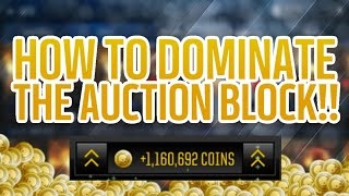 HOW TO MONOPOLIZE THE MARKET IN MADDEN MOBILE 18!! UNREAL COIN MAKING METHOD + PLAYER GUIDE!!