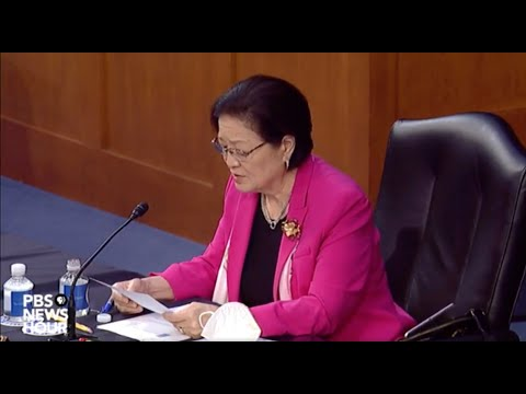 Sen. Mazie Hirono questions witnesses in Amy Coney Barrett Supreme Court confirmation hearing