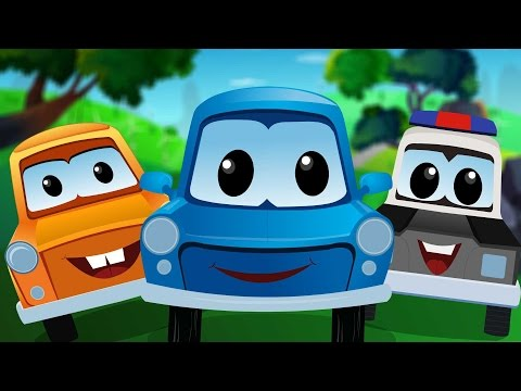 zeek and friends | Five Little Cars | Cartoon Cars For Kids