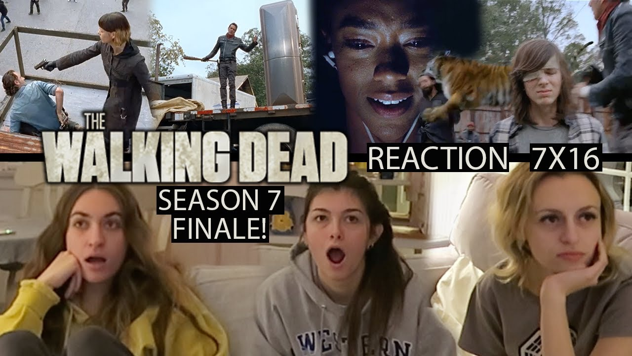 Download The Walking Dead - 7x16 The First Day of the Rest of Your Life - Reaction