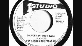 The Paragons - Danger In Your Eyes
