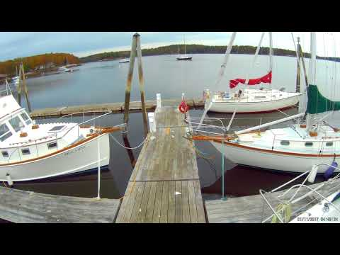 Derecktor Robinhood Marine, Georgetown, Maine Fall 2017