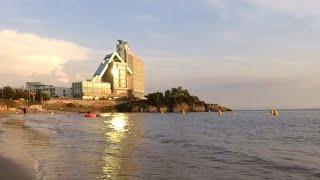 모항 해수욕장 바다 풍경 | 무료 캠핑 차박 명소 | …