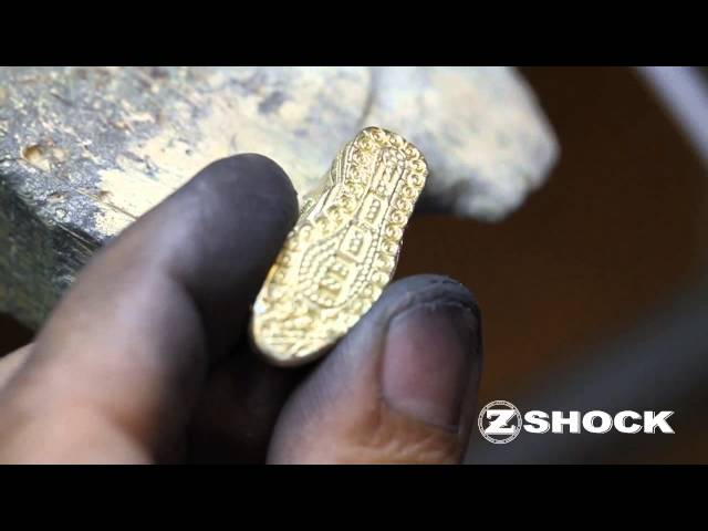 The Making Of The Nike Zoom Revis 1 Sneaker Pendant By ZShock Jewelry Company