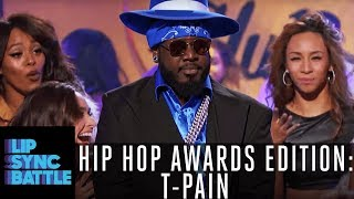 Download T-Pain Gets The Crowd To 'Stand Up' - Ludacris Style | Lip Sync Battle: Hip Hop Awards Edition Mp3 and Videos