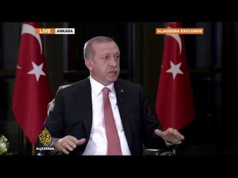 Part I: Exclusive live interview with Turkish President Recep Tayyip Erdogan