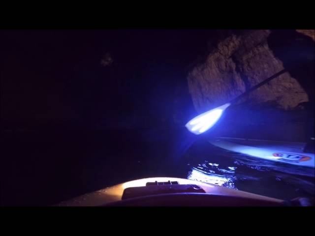 Descente  nocturne Gorges du Tarn paddle