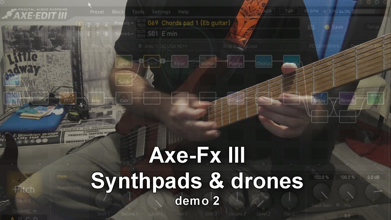 Axe-Fx III - Synthpads and drones - Fremen Presets