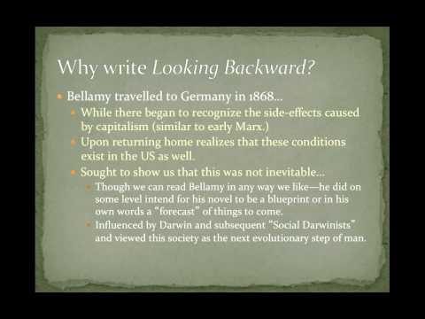 POS 201: Lecture 9-Utopian Political Thought, Intro to Looking Backward