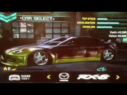 Need For Speed Carbon My Tuner Cars Youtube