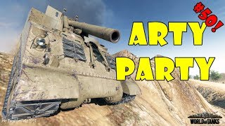World of Tanks - Funny Moments | ARTY PARTY! #50