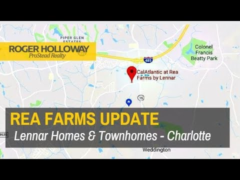 Rea Farms Homes For Sale Charlotte NC 28277 UPDATE
