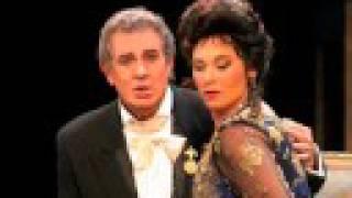 "Elizabeth Blancke-Biggs & Placido Domingo sing Fedora pt. 3  ""Fedora io t"