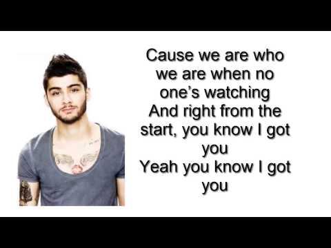 Zayn Malik - I Won't Mind Prod. NaughtBoy ( New Song 2015Lyrics)