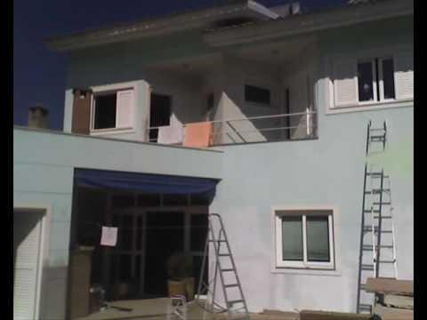 Pinturas de casas antes e depois youtube - Pintura para casa ...