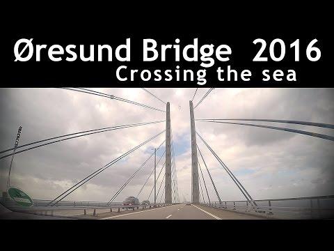 Øresund Bridge Sweden Denmark