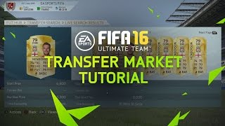 FIFA 16 Ultimate Team Tutorial - Transfer Market