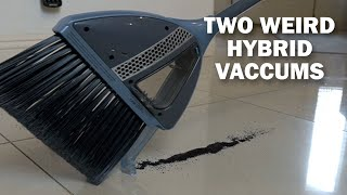 Weird Hybrid Vacuums! Testing VacMop and VaBroom