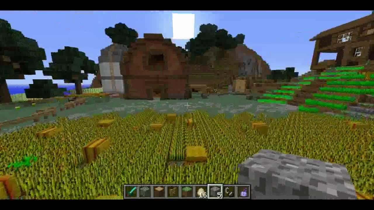 Minecraft Lets Build A Farm