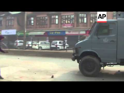 Protesters clash with police during demo against arrest of youths during elections
